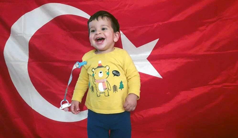 4 yaşındaki Arif Emir.