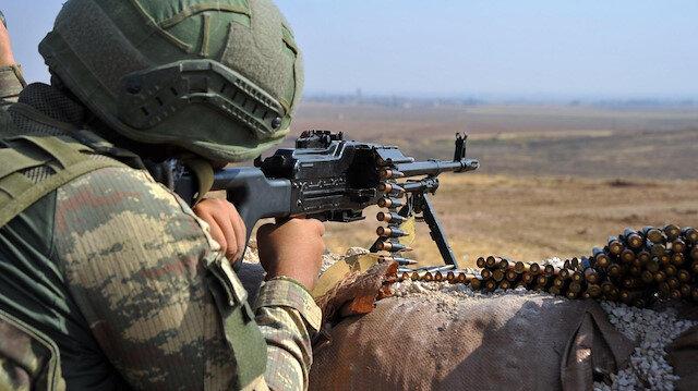 Fırat Kalkanı bölgesine saldırı hazırlığında olduğu tespit edilen 4 terörist etkisiz hale getirildi