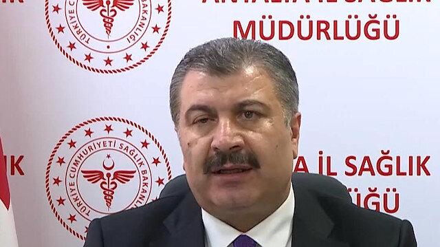 Sağlık Bakanı Fahrettin Koca: Bugün itibariyle ülkemizde üçüncü bir aşının daha kullanımına onay verildi