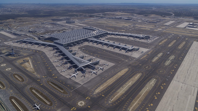 İstanbul Havalimanı 63 bin uçuşla Avrupa'da lider oldu