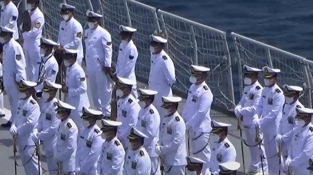 Endonezya'da denizaltı kazasında hayatını kaybedenler için ailelerinin de katıldığı tören düzenlendi