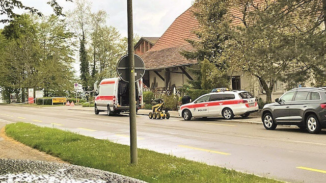 İsviçre'de Türklere bombalı tehdit
