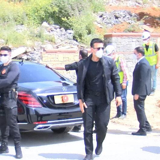 Cumhurbaşkanı Erdoğan işçileri selamladı