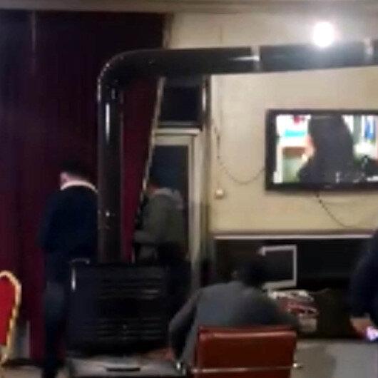 Kahramanmaraşta derneğe koronavirüs baskını: Polisi görünce balkondan kaçmaya çalıştı