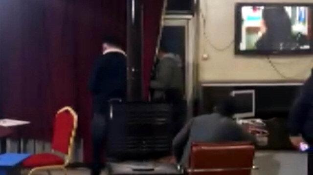 Kahramanmaraş'ta derneğe koronavirüs baskını: Polisi görünce balkondan kaçmaya çalıştı