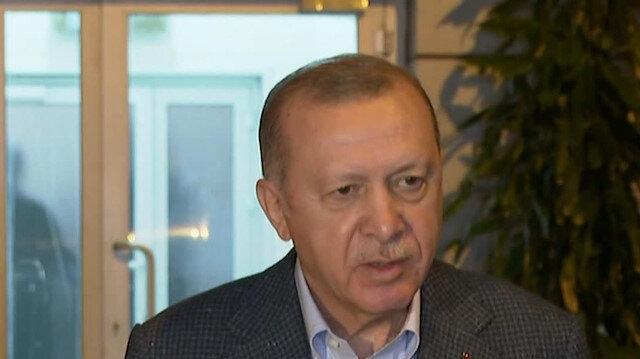 1 Mayıs Emek ve Dayanışma Günü'nde işçilerle iftarda buluşan Cumhurbaşkanı Erdoğan, iftar sonrası açıklamalarda bulundu