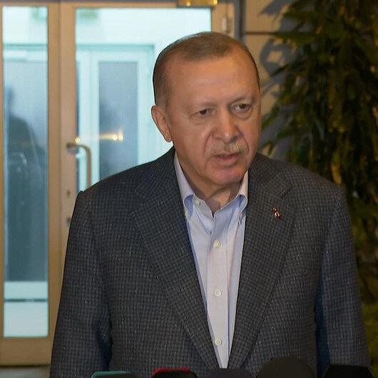 1 Mayıs Emek ve Dayanışma Gününde işçilerle iftarda buluşan Cumhurbaşkanı Erdoğan, iftar sonrası açıklamalarda bulundu