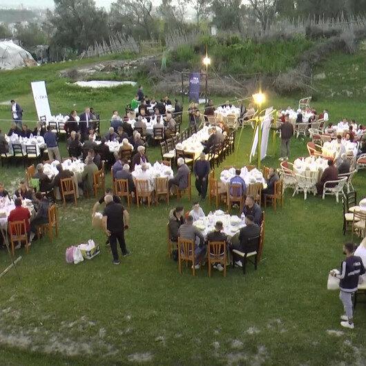 TİKA Arnavutlukta her akşam 100 kişilik iftar sofrası kuruyor