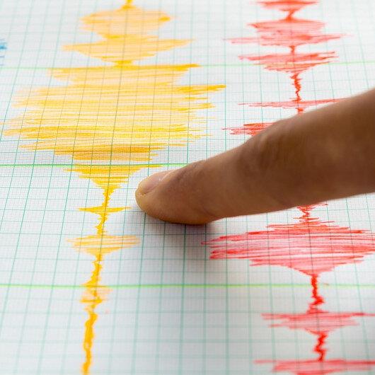 Burdur'da deprem oldu