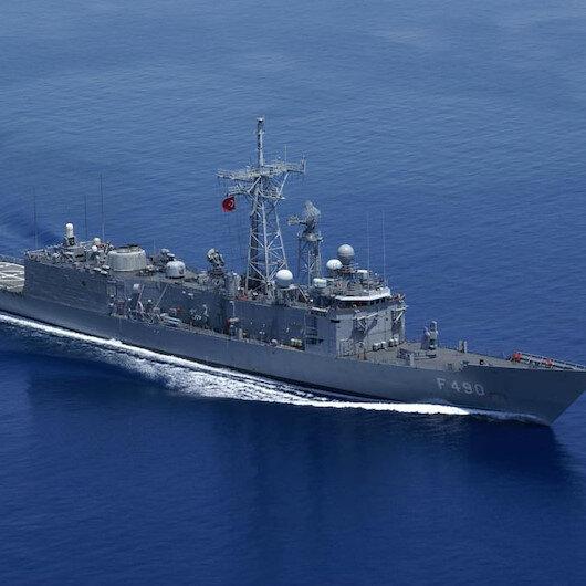 Türk savaş gemisi 'TCG Gaziantep' Libya açıklarında 123 göçmeni ölümden kurtardı
