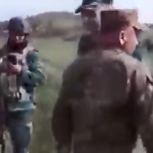 Ermenistan askerleri sınırdan geçmek istedi: Provokasyon girişimi kamerada