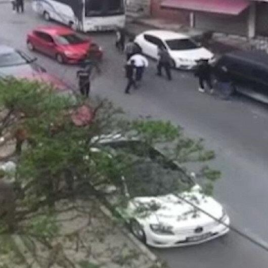 Gaziosmanpaşada iki grup arasında bıçaklı kavga