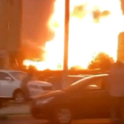 Tacikistanda akaryakıt istasyonunda patlama: 11 yaralı