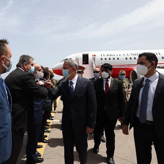 Milli Savunma Bakanı Hulusi Akar Libyada