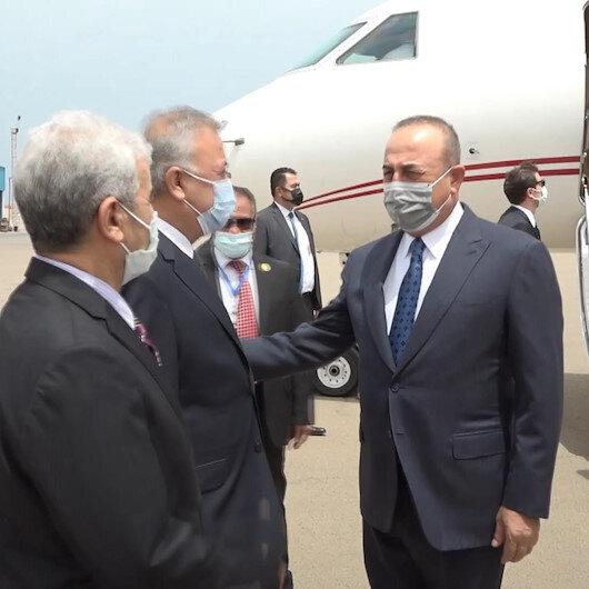 Dışişleri Bakanı Mevlüt Çavuşoğlu, Libya'nın başkenti Trablusta