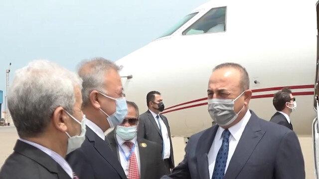 Dışişleri Bakanı Mevlüt Çavuşoğlu, Libya'nın başkenti Trablus'ta