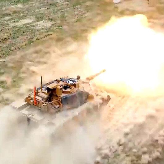 ASELSANın tanklar için geliştirdiği VOLKAN-M Atış Kontrol Sistemine tam not