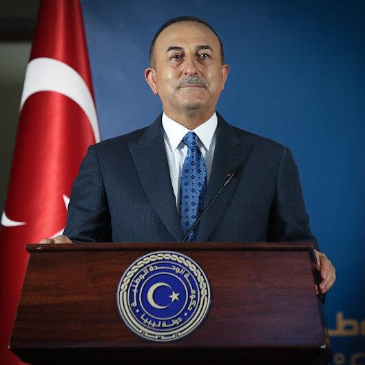 Dışişleri Bakanı Çavuşoğlu Libyada konuştu: Desteğimizi göstermek için buradayız