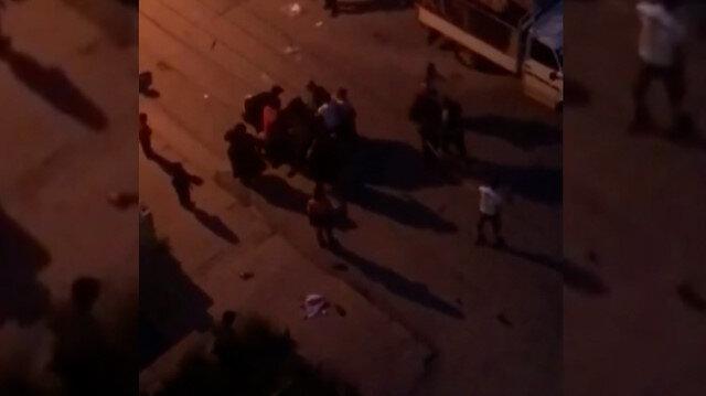 Ankara'da kağıt toplayıcıların bölge kavgası kamerada