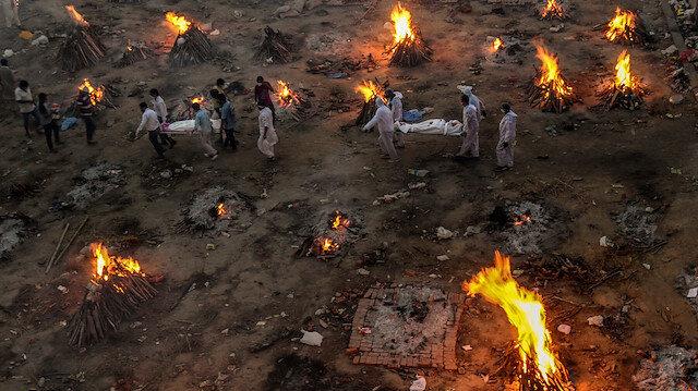 Çin Hindistan'da salgın nedeniyle hayatını kaybedenlerle alay etti: Paylaşım tepkiler sonrası silindi
