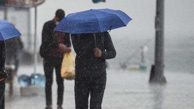 Meteorolojiden 17 ile kuvvetli yağış uyarısı