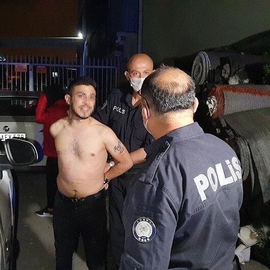 Adanada motosikletle 5 kilometre kaçan kişi yakalanınca Polis benim baş tacım dedi