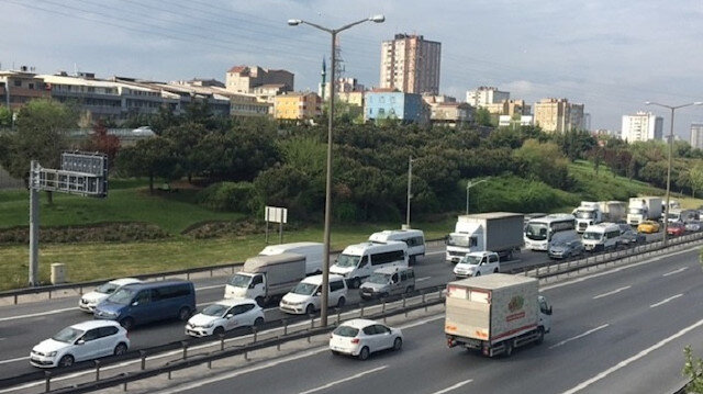 İstanbul'da tam kapanmada trafik yoğunluğu devam ediyor