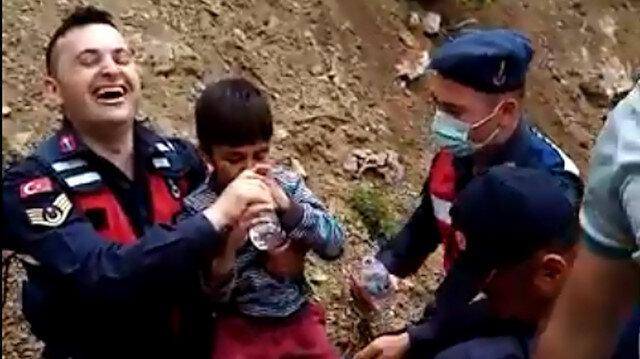 Burdur'da kaybolan 10 yaşındaki otizmli Kerim Can'dan sevindiren haber