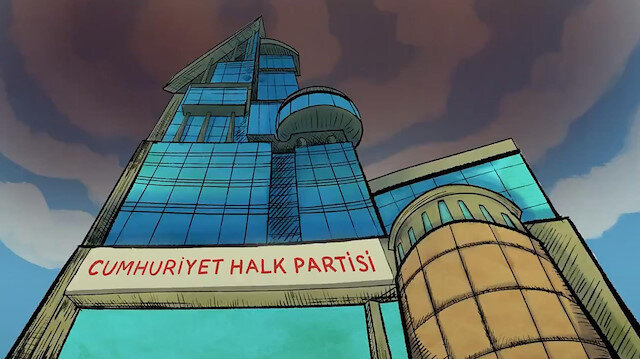 AK Parti'den paylaşım rekoru kıran CHP çizgi filmi: Yalan üretim merkezi