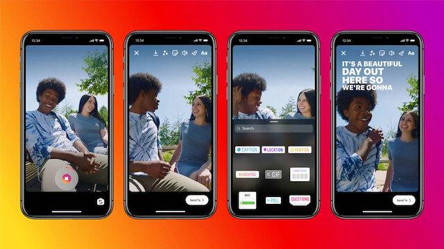 Instagram Hikayeler'e altyazı özelliği eklendi