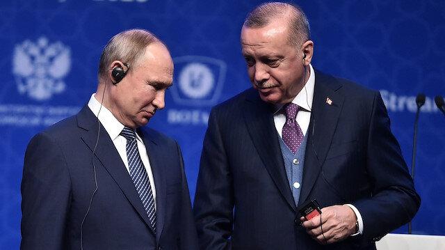 Erdoğan ve Putin'den 'Sputnik V' görüşmesi