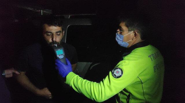Polisin alkollü sürücüyle imtihanı: Dakikalarca kaçtı ekipleri çileden çıkardı