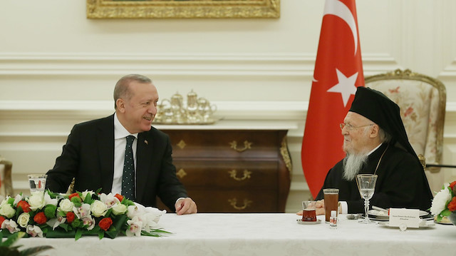 Cumhurbaşkanı Erdoğan azınlık cemaatleri temsilcileri ile iftar yaptı