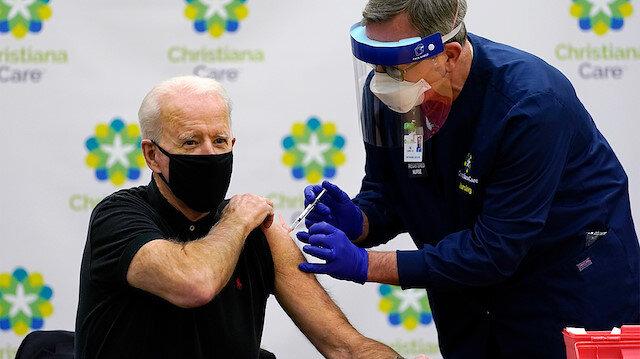 ABD Başkanı Biden: Koronavirüs aşılarının patent hakkı kaldırılmalı