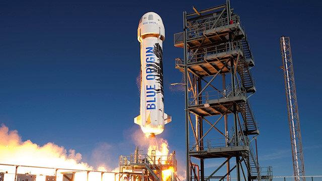 Blue Origin 20 Temmuz'da uzaya turist göndermeyi planlıyor
