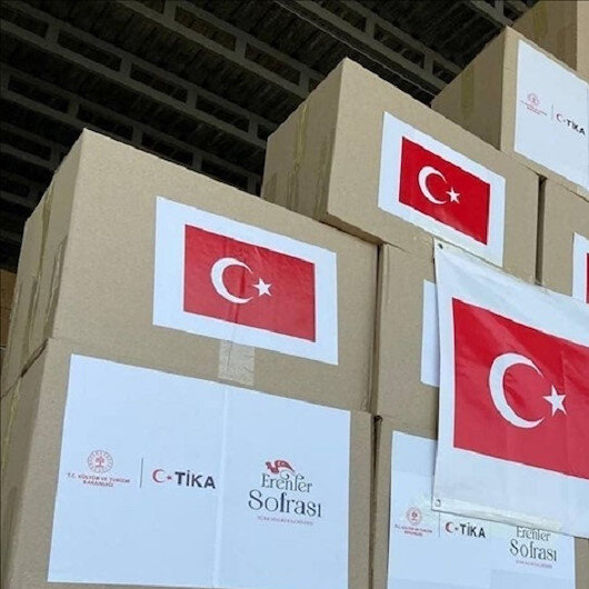 """رواندا..""""تيكا"""" التركية توزع مساعدات على الأسر المحتاجة"""
