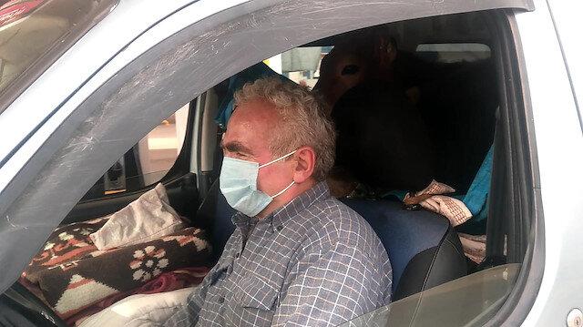 Arka koltuktaki yolcular şaşırttı: