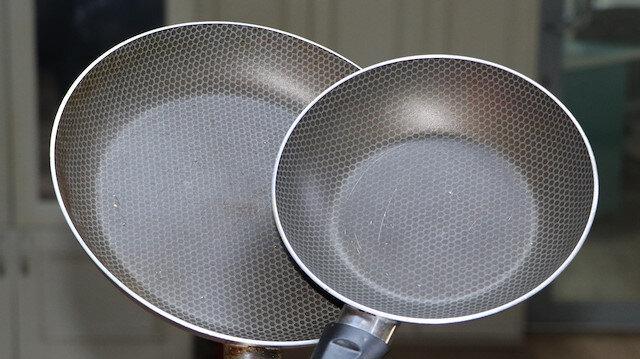 'Yapışmaz' özellikteki tava ve tencereler yüksek ısıda zararlı gazlar yayıyor