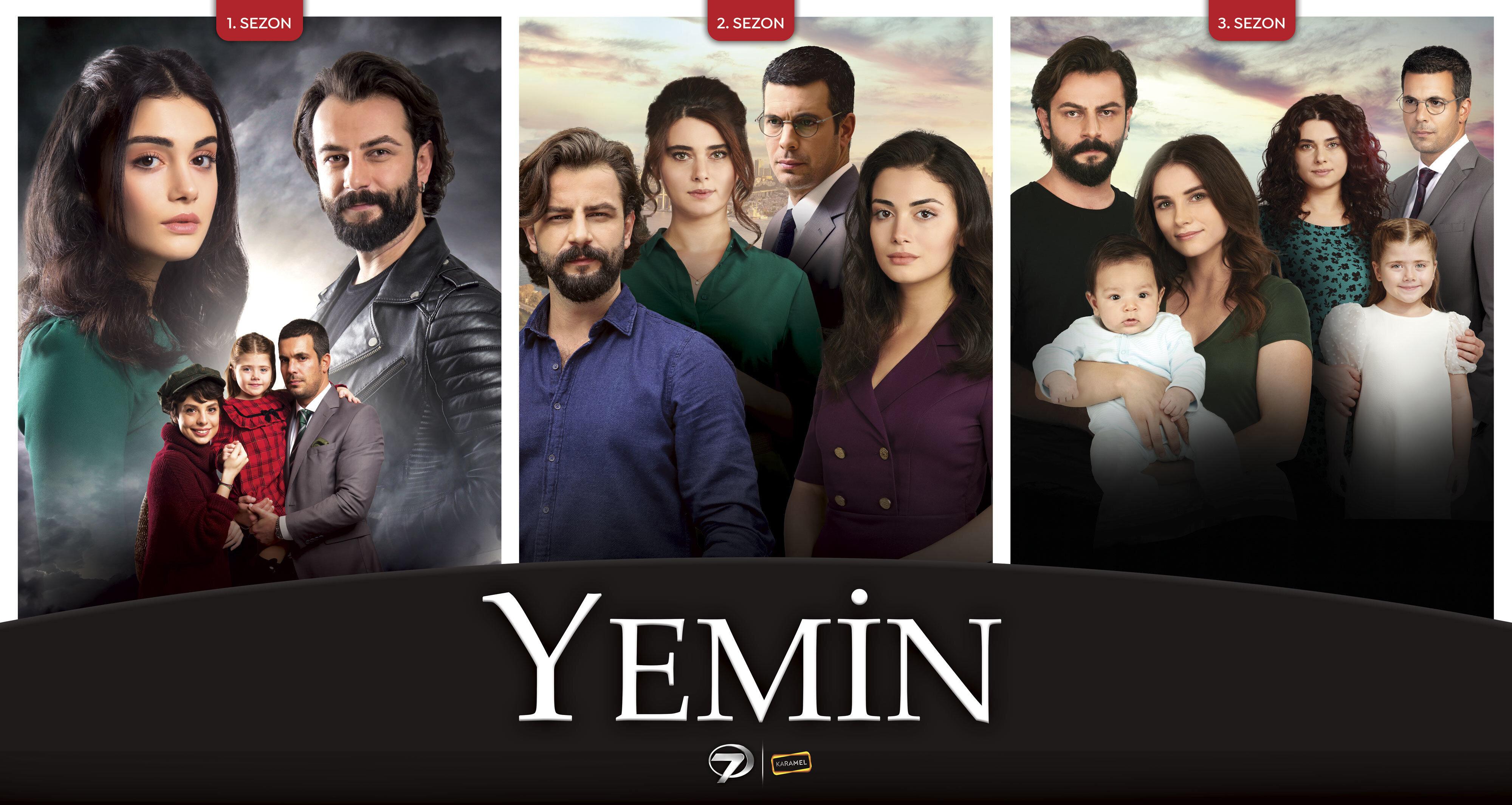Üçüncü sezonunda olan Yemin dizisi 333 bölümü geride bıraktı.