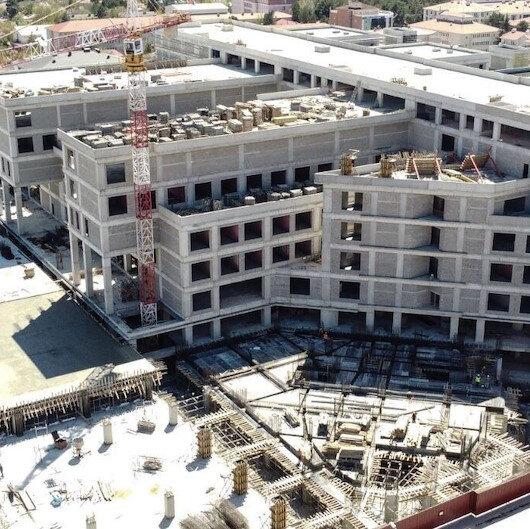 Erzincan'da 500 yataklı devlet hastanesinin inşaatı hızla yükseliyor: Akıllı hastane modeliyle yapılıyor