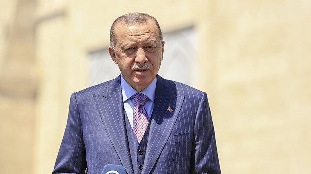 Cumhurbaşkanı Erdoğan'dan yerli aşı açıklaması: Sadece ülkemiz için değil, tüm dünyayla paylaşmaya hazırız