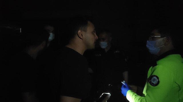 Denizli'de zorluk çıkaran yabancı boksöre cevap: Karşında Türk polisi var