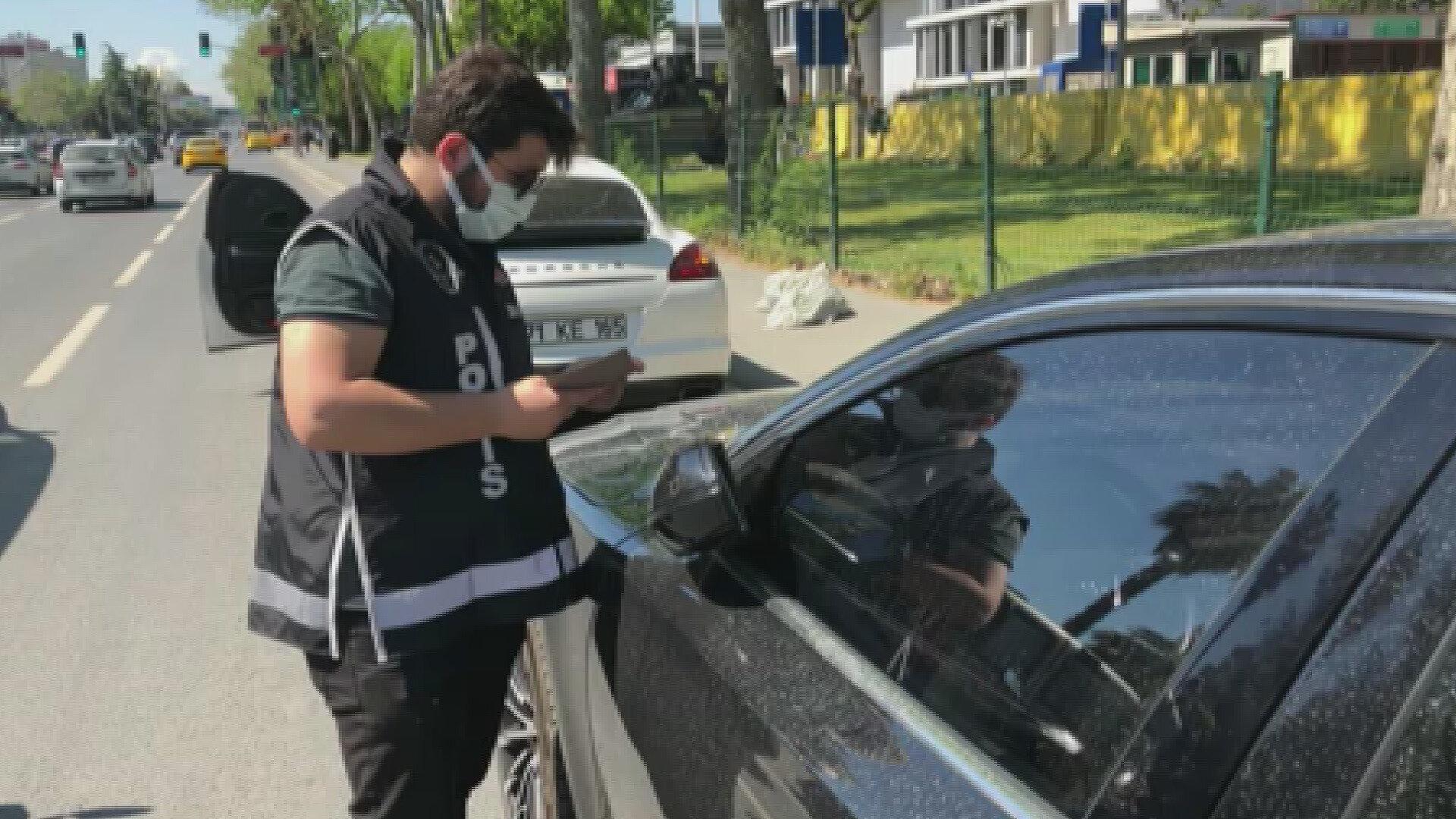 Otomobillerden bazılarının uluslararası düzeyde aranan araçlar olduğu da belirlendi.