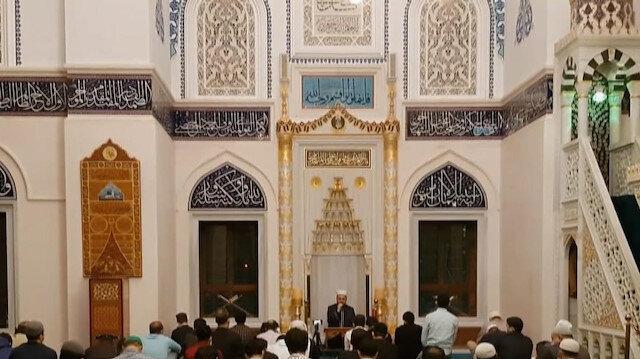 Japonya'da Müslümanlar, Kadir Gecesi'ni Tokyo Camisi'nde eda etti