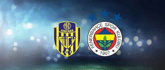 Ankara'da kritik maç
