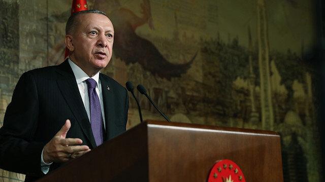 Cumhurbaşkanı Erdoğan'dan İsrail'e kınama mesajı