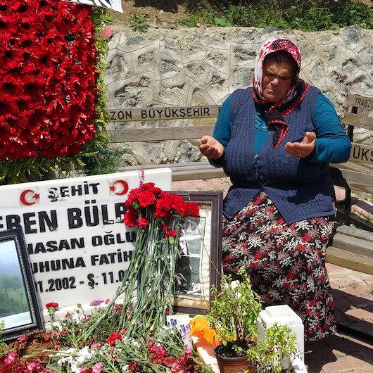 Şehit Eren Bülbül'ün annesi: Harçlığı olmadığı için bana ormandan çiçek toplardı