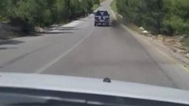 Denizli'de polisle ehliyetsiz sürücünün aksiyon filmlerini aratmayan kovalamacası