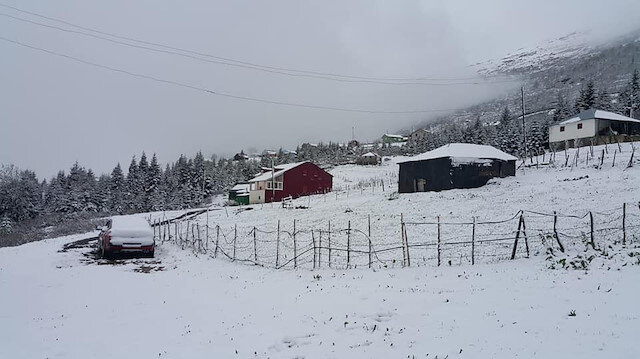 Baharı beklerken kış geri döndü: Mayıs ayında kar sürprizi