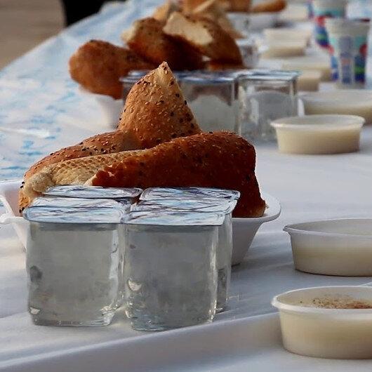 """""""تيكا"""" التركية تقيم مأدبة إفطار لمئة طالب يتيم بأفغانستان"""